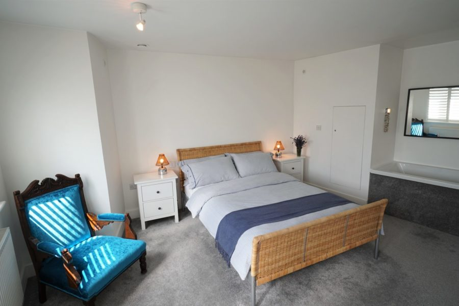 Upstairs double bedded ensuite
