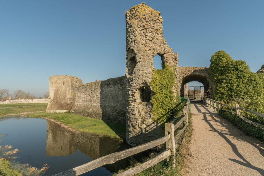 Pevensey Castle Sussex